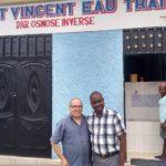Le père Frantzdy Joseph et Roger Clavet, membre de l'AQANU Bois-Francs(Cyber-bulletin 8.29)